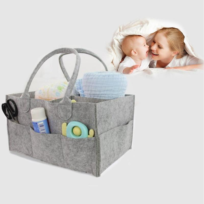 Portable Nursery Diaper Storage Caddy